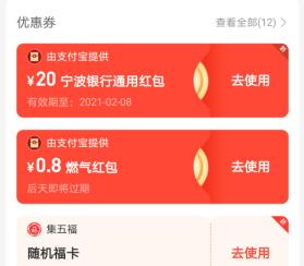宁波银行旗下袋鼠钱包,新用户免费得20元以上红包!  宁波银行 袋鼠钱包 红包 免费赚钱 第2张