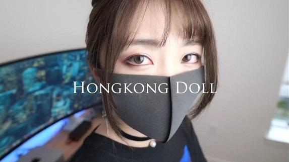 HongKongDoll玩偶姐姐真好看,她是谁?